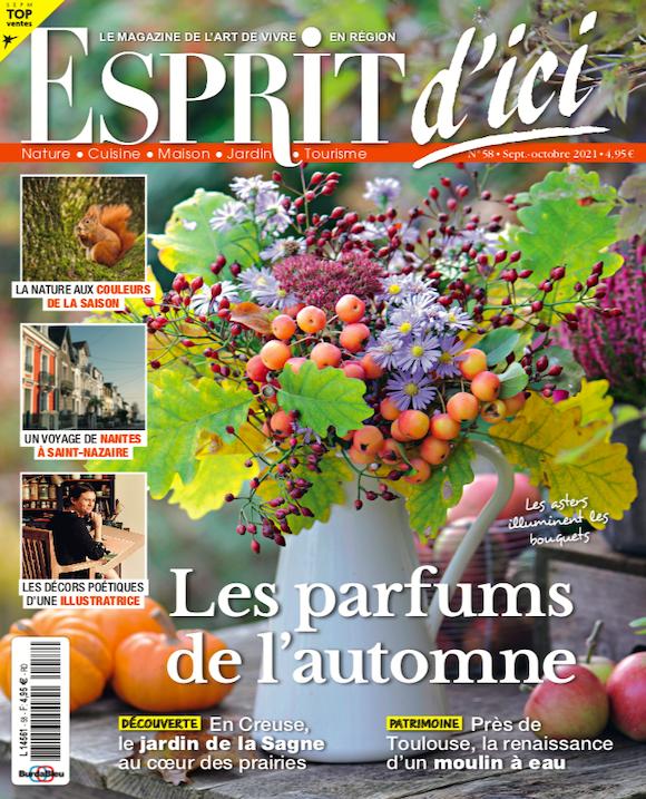 Couverture du magazine Esprit d'ici n°58