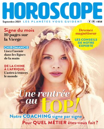 Couverture du magazine Horoscope n°858