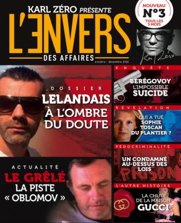 Couverture du magazine L'Envers des Affaires n°3