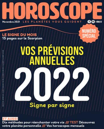 Couverture du magazine Horoscope n°860