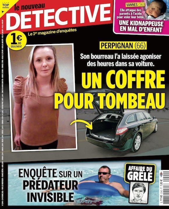 Couverture du magazine Le Nouveau Détective n°2040